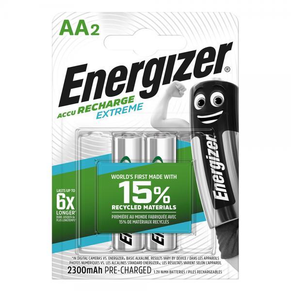Energizer NiMH-Accu Recharge Extreme Mignon AA