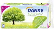 Danke Toilettenpapier 3-lagig <nobr>(8 x 150 St.)</nobr> - 7322540033403