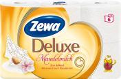 Zewa Deluxe Toilettenpapier Mandelmilch 4-lagig <nobr>(6 x 135 Blatt)</nobr> - 7322540739176