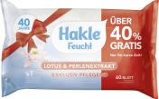 Hakle Feucht Toilettenpapier Lotus & Perlenextrakt <nobr>(60 St.)</nobr> - 4260344220564