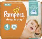 Pampers Sleep & Play Gr.4 Maxi 8-16 kg <nobr>(36 St.)</nobr> - 4015400888086
