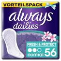 Always Dailies Fresh & Protect normal fresh scent <nobr>(56 St.)</nobr> - 8001090740465