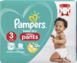 Pampers Baby Dry Nappy Pants Gr. 3 Midi 6-11 kg <nobr>(31 St.)</nobr> - 8001090514028