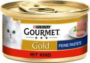 Gourmet Gold Feine Pastete mit Rind <nobr>(85 g)</nobr> - 40056494