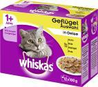 Whiskas Geflügel Auswahl in Gelee <nobr>(12 x 100 g)</nobr> - 4008429014086