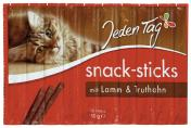 Jeden Tag Snack-Sticks Lamm &Truthahn <nobr>(10 x 5 g)</nobr> - 4306180182984