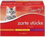 Jeden Tag Zarte Stücke in Gelee Multipack <nobr>(12 x 100 g)</nobr> - 4306180182342