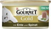 Gourmet Gold Feine Pastete mit Ente & Spinat <nobr>(85 g)</nobr> - 7613033523434