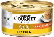 Gourmet Gold Raffiniertes Ragout mit Huhn <nobr>(85 g)</nobr> - 7613035439696