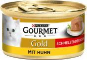 Gourmet Gold Schmelzender Kern mit Huhn <nobr>(85 g)</nobr> - 7613036226745