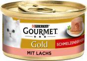 Gourmet Gold Schmelzender Kern mit Lachs <nobr>(85 g)</nobr> - 7613036227353