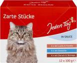 Jeden Tag Zarte Stücke in Sauce Fisch <nobr>(12 x 100 g)</nobr> - 4306188365136