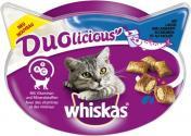 Whiskas Duolicious Snacks Lachs & Joghurt <nobr>(55 g)</nobr> - 5998749136072