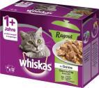 Whiskas 1+ Ragout Gemischte Auswahl in Gelee <nobr>(12 x 85 g)</nobr> - 5900951264429