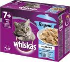 Whiskas 7+ Ragout Fischauswahl in Gelee <nobr>(12 x 85 g)</nobr> - 5900951270383
