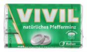 Vivil Natürliches Pfefferminz 3er Multipack <nobr>(3 x 30 g)</nobr> - 4020400000079