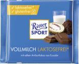 Ritter Sport Vollmilch laktosefrei* <nobr>(100 g)</nobr> - 4000417102003