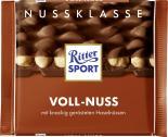 Ritter Sport Nussklasse Voll-Nuss <nobr>(100 g)</nobr> - 4000417700001