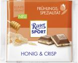 Ritter Sport Bunte Vielfalt Frühlingsspezialität Honig & Crisp <nobr>(100 g)</nobr> - 4000417922007