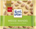 Ritter Sport Nussklasse Weisse Mandel <nobr>(100 g)</nobr> - 4000417706003