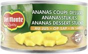 Del Monte Ananas Dessert-Stücke in Saft <nobr>(140 g)</nobr> - 24000100812