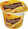 Maggi 5 Minuten Terrine Kartoffelbrei mit Röstzwiebeln & Croutons <nobr>(59 g)</nobr> - 4