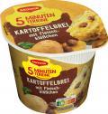 Maggi 5 Minuten Terrine Kartoffelbrei mit Fleischklößchen <nobr>(49 g)</nobr> - 4