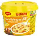 Maggi Topfinito Kartoffelsuppe mit Würstchen, Becher <nobr>(380 g)</nobr> - 40055732