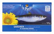La Perla Sardinen in Sonnenblumenöl <nobr>(125 ml)</nobr> - 6