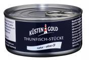Küstengold Thunfisch-Stücke natur <nobr>(140 g)</nobr> - 4250426213195