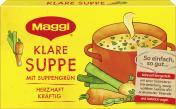 Maggi Klare Suppe mit Suppengrün, Faltschachtel, ergibt 8 Liter <nobr>(8 l)</nobr> - 4