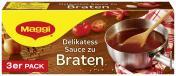 Maggi Delikatess Sauce zu Braten, 3er Pack, ergibt 3 x 250 ml <nobr>(3 x 0,25 l)</nobr> - 4005500326151