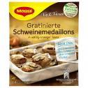 Maggi fix & frisch, Gratinierte Schweinemedaillons, Beutel, ergibt 4 Port. <nobr>(42 g)</nobr> - 7613034873583