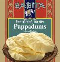 Sabita Pappadums <nobr>(200 g)</nobr> - 4