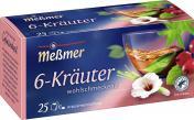 Meßmer 6-Kräuter-Mischung <nobr>(25 x 2 g)</nobr> - 4001257160000