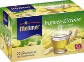 Meßmer Ingwer-Zitrone <nobr>(20 x 1,75 g)</nobr> - 4002221021303