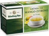 Bünting Grüner Tee Mango-Zitrone <nobr>(20 x 1,75 g)</nobr> - 4008837214177