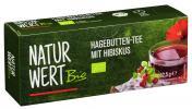NaturWert Bio Hagebutten-Tee mit Hibiskus <nobr>(25 x 2,50 g)</nobr> - 4250780320263