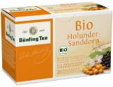 Bünting Tee Bio Holunder Sanddorn <nobr>(20 x 2 g)</nobr> - 4008837223155