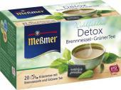 Meßmer Grüner Tee Detox Brennessel <nobr>(20 x 2 g)</nobr> - 4002221029958