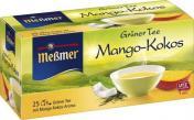 Meßmer Grüner Tee Mango-Kokos <nobr>(25 x 1,75 g)</nobr> - 4002221031708
