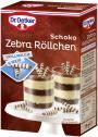 Dr. Oetker Schoko Zebra Röllchen Vollmilch & Weiß <nobr>(75 g)</nobr> - 4000521006686