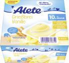 Alete Grießbrei Vanille <nobr>(4 x 100 g)</nobr> - 4251099609612