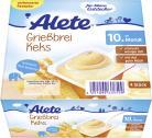 Alete Grießbrei Keks <nobr>(4 x 100 g)</nobr> - 4251099609599