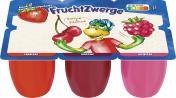 Danone Fruchtzwerge Erdbeere, Kirsche, Himbeere <nobr>(6 x 50 g)</nobr> - 4009700005212