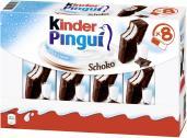 Kinder Pingui Schoko <nobr>(8 St.)</nobr> - 4008400290829