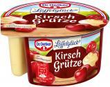 Dr. Oetker Kirschgrütze mit Vanille-Creme <nobr>(160 g)</nobr> - 4000521580902