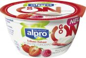 Alpro Go On Quarkalternative Erdbeer-Himbeer <nobr>(150 g)</nobr> - 5411188124191