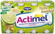 Danone Actimel Limette-Ingwer & Yuzu <nobr>(8 x 100 g)</nobr> - 4009700076021