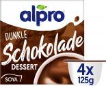 Alpro Soya Dessert Dunkle Schokolade feinherb <nobr>(4 x 125 g)</nobr> - 5411188091622